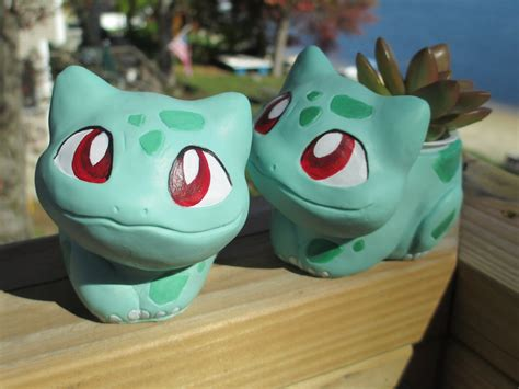 Bulbasaur Planter bulbasaur sprout seedling planter by tallydragon on deviantart