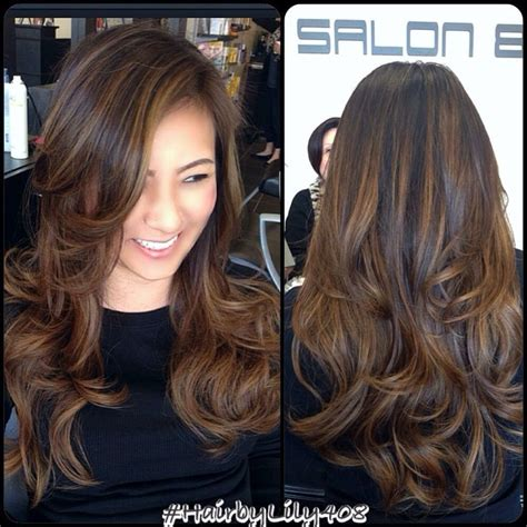 highlight hair gallery 25 best ideas about highlights for black hair on