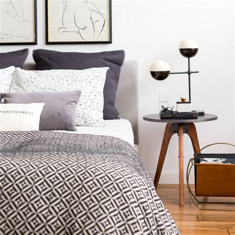 manly bedding masculine clean and modern bedroom brady tolbert