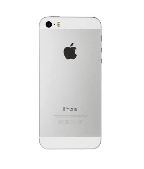 Apple Iphone 5s Silver Iphone 5s E tripleclicks iphone 5s 16 gb silver free shipping india