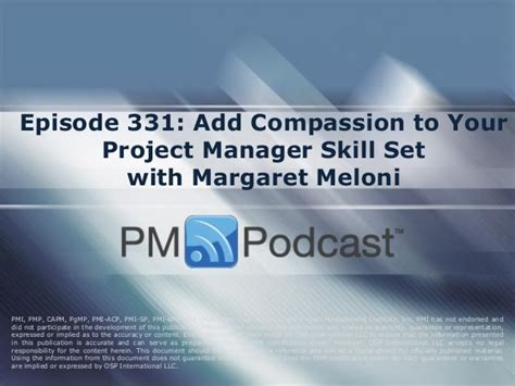 Margaret Meloni Mba Pmp by Add Compassion To Your Project Manager Skill Set With