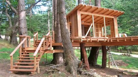 want to make a treehouse the garden glove tree house roof design youtube