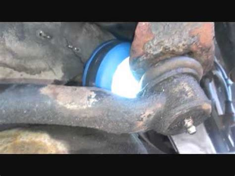 2004 Jeep Wrangler Wobble Wobble Fix Replacing Jeep Track Bar