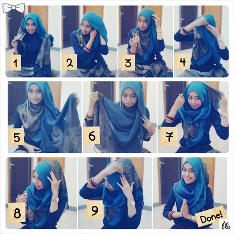 download video tutorial hijab syar i hijab scrapbook