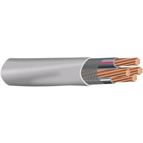 10 3 mc cable by the foot southwire 12 3 x 100 ft mc cable blue 55276523 the home