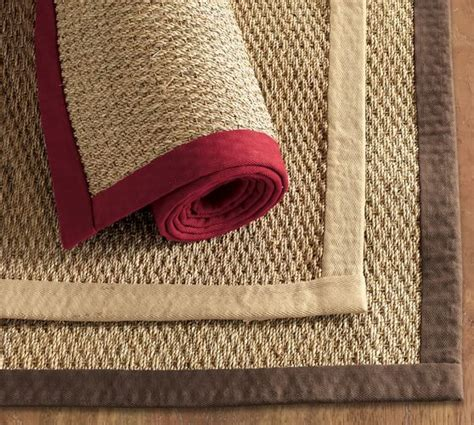 Pottery Barn Seagrass Rug Color Bound Seagrass Rug Swatch Pottery Barn