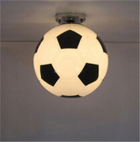 Football Ceiling Light 2015 Fashion Football Soccer Basketball Glass Led E27 Ceiling L Novelty Kid S Room Ceiling