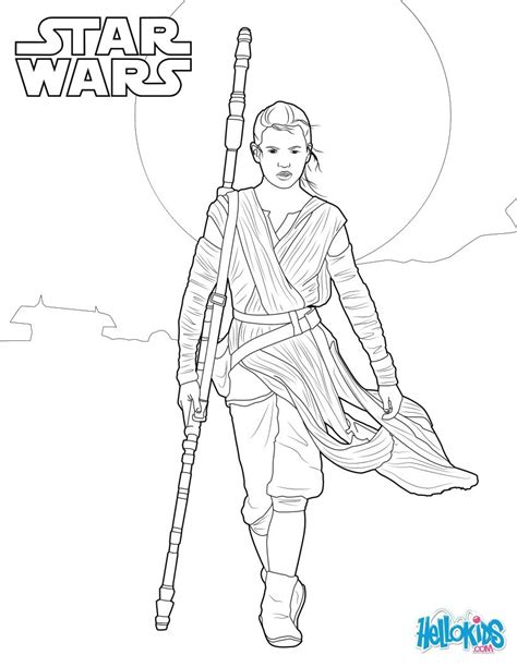 Rey Star Wars Vii Coloring Pages Rey Art Quilts Wars 7 Coloring Pages