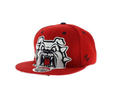 fresno state colors fresno state bulldogs the menace snapback team colors by
