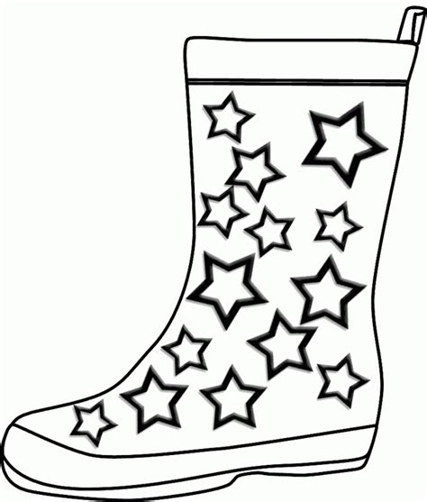 coloring page of rain boots rain boots coloring page coloring home