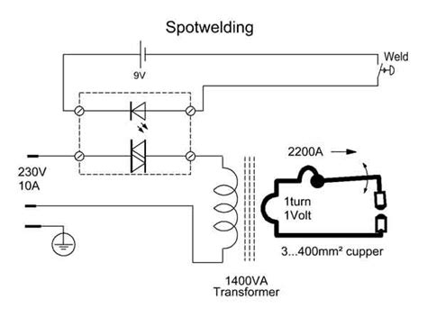 welding circuit diagram wiring diagram with description