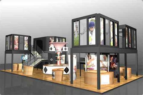 Bubble Chairs Welcome Exhibition Stand Design And Illustration