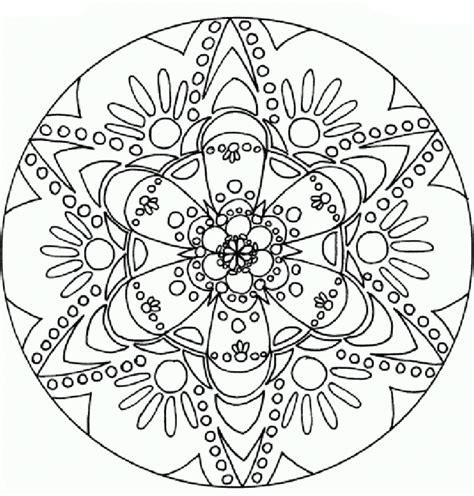 flor mandala para imprimirflor mandala mandalas de flores para colorear e imprimir