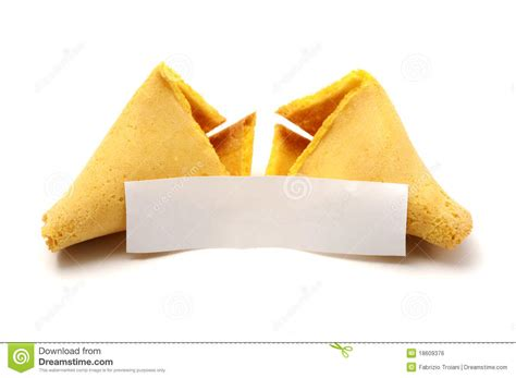 broken fortune cookie royalty free stock image image