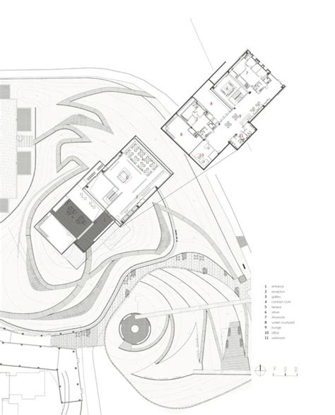 site plan studio 0202 changsha vanke club house tsushima design studio archdaily