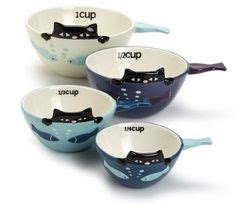 1 x ceramic cat measuring cups baking bowls 1000 images about ceramic measuring cups and spoons on