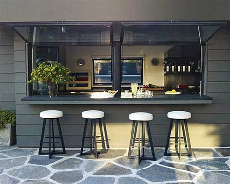 windows top bar 22 brilliant kitchen window bar designs you would love to
