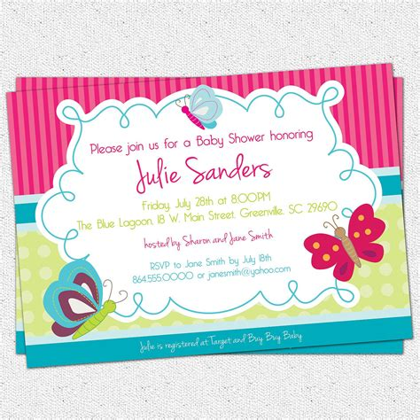 Printable Baby Shower Invitations For by Printable Baby Shower Invitations Free Printable Bee