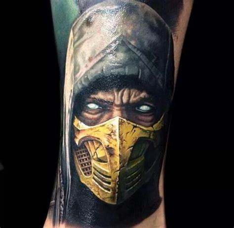 mortal kombat tattoo ink pinterest