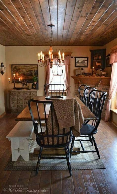 primitive dining room 395 best primitive colonial dining rooms images on