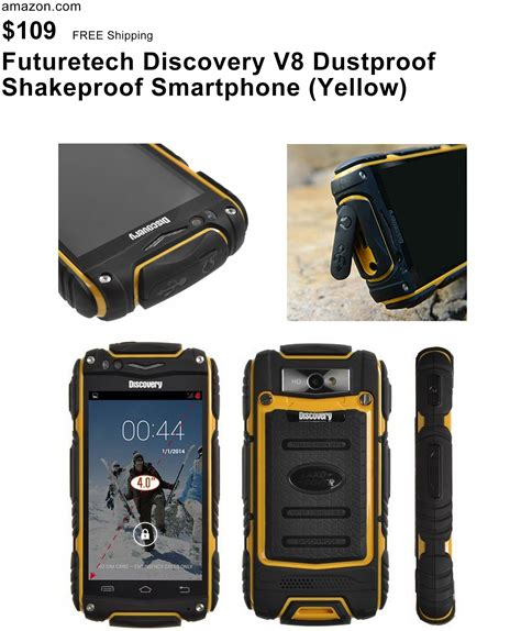 Discovery V8 Rugged Cell Phone - futuretech 174 discovery v8 dustproof shakeproof smartphone