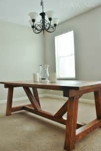 Dining Room Farm Tables Holy Cannoli We Built A Farmhouse Dining Room Table