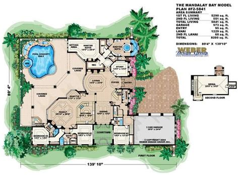 Mandalay Bay House Plan Home Pinterest Bay House Plans