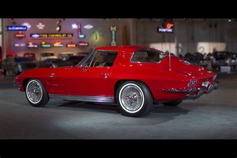 1962 corvette split window garage 1963 chevrolet corvette split window