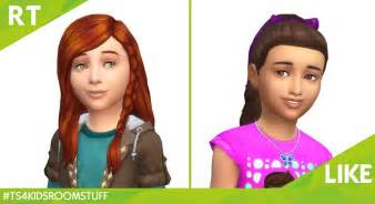 childs hairstyles sims 4 the sims 4 kids room stuff this or that hairstyle simsvip