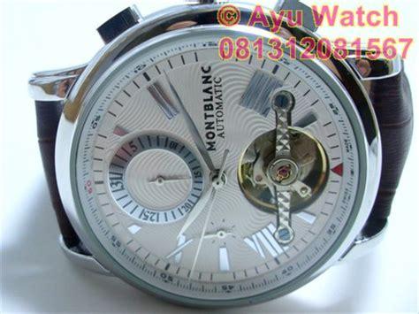 Jam Tangan Montblank Rantai Tanggal Hari Aktif Ring Putih jam tangan pria montblanc automatic hari dan tanggal jam