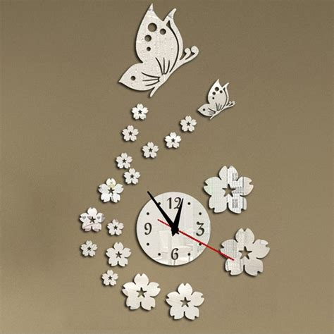 hot acrylic clocks  wall clock modern design