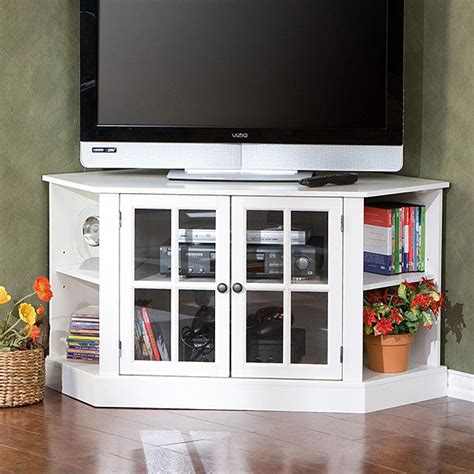 corner media cabinets flat screen tvs 17 best images about diy corner tv stands on pinterest