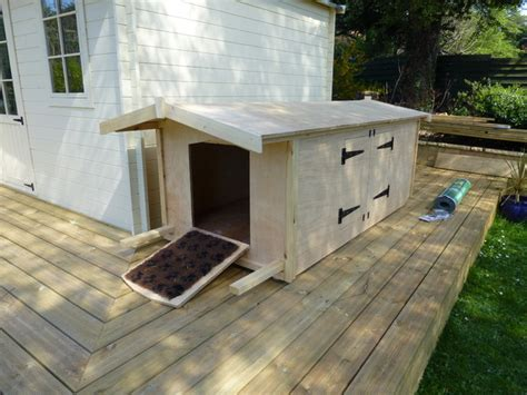 custom made dog houses summer house with decking custom made dog house traditional garage and shed
