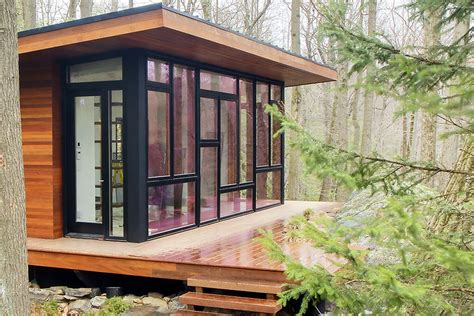tiny house studio a modern studio retreat in the woods workshop apd