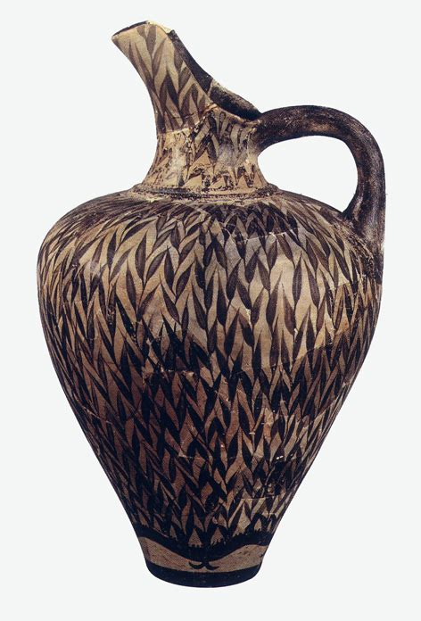vasi minoici ceramica minoico recente arte minoica