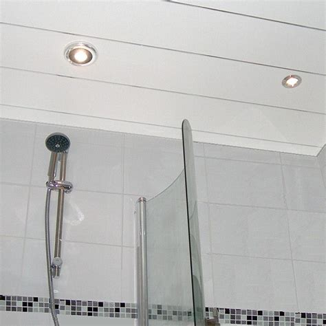 Waterproof Shower Ceiling by Shower Ceiling Cladding The Waterproof Solution