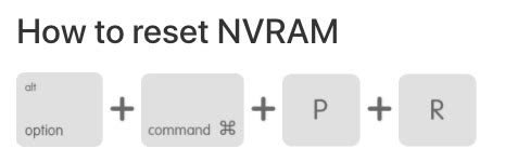 reset nvram command line five ways to solve mac running slow after high sierra update