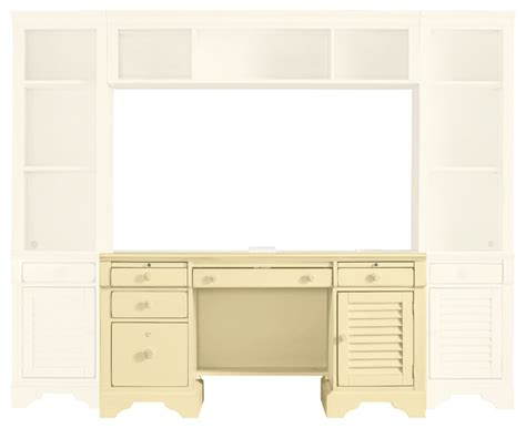 Cottage Style Computer Desk Coastal Living Cottage Computer File Desk Style Desks By Masins Furniture