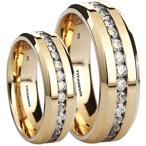 His And Hers Wedding Rings by Made For Two His And Hers Wedding Ring Set