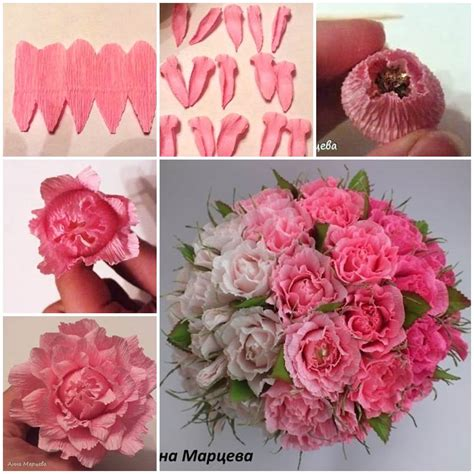How To Make Simple Crepe Paper Flowers - how to make easy crepe paper chocolate flower