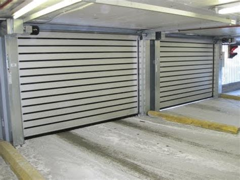 Rytec Spiral Low Headroom Door High Performance Doors Rytec Garage Doors