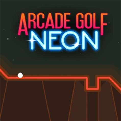 arcade golf: neon game play for free on html5games.com