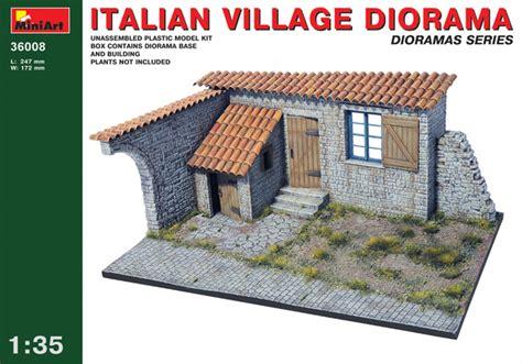 Rak Dinding Diorama Rc Skala 1 10 1 10 italian diorama model do sklejania miniart 36008