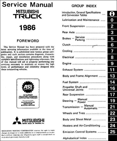 free service manuals online 1992 mitsubishi mighty max spare parts catalogs service manual free owners manual for a 1986 mitsubishi mighty max 1986 mitsubishi truck