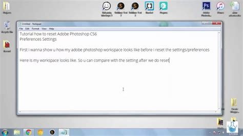 reset tool photoshop cs6 tutorial how to reset photoshop settings and preferences