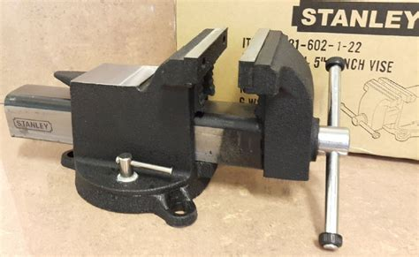 stanley bench vice buy stanley 4 quot bench vise with base id118781 product