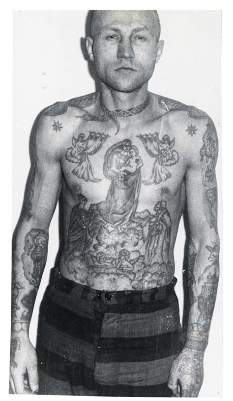 russian criminal tattoo russian criminal files decoding the of
