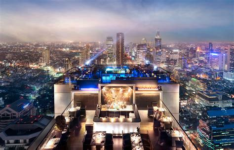 roof top bar in bangkok vertigo grill and moon bar bangkok 171 luxury hotels travelplusstyle