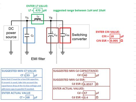 how capacitor filter noise lm2576 noise reduction for clear work with 35mhz 2 4ghz rx non isolated dc dc forum non