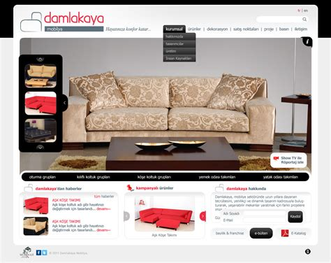 Sofa Website Design Hereo Sofa